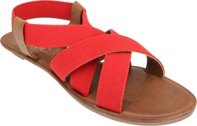 Catwalk Women Red Flats