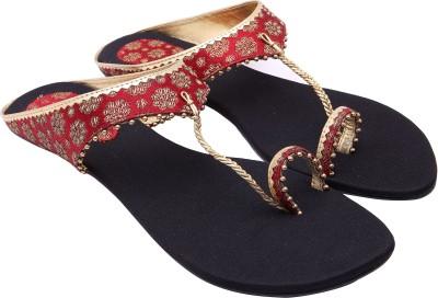 Royal Collection Women Black Flats
