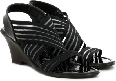 Catwalk Women Women Black Wedges