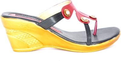 Marie Comfort Girls Red, Beige Sandals