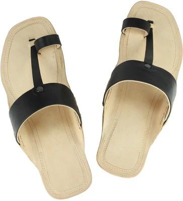 eKolhapuri Men Black Sandals