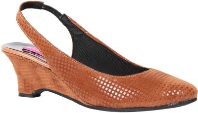 Butterfly Women Brown Heels