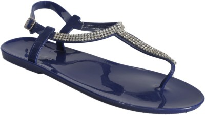 Keyza Women Blue Flats