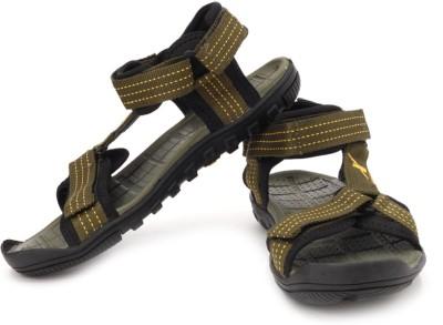 Sparx Men Green, Yellow Sandals