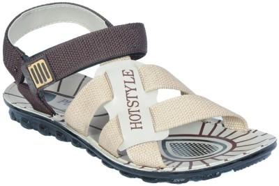 ETHICS Men Brown Sandals