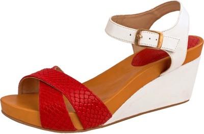 Hidesign Women Red Heels