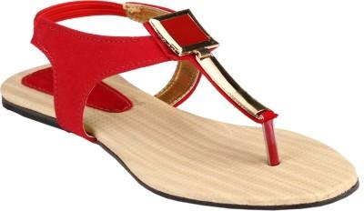 Afrojack Women Red Flats