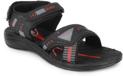 Columbus VRM 111 Men Black, Red Sandals