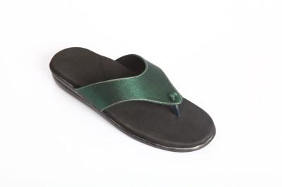 Dia One Diabetic Footwear Women Green Flats