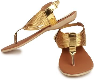 Geetika Women Gold Flats