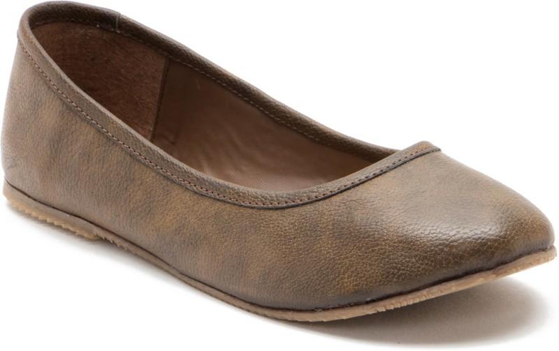 ANTS Women Brown Flats