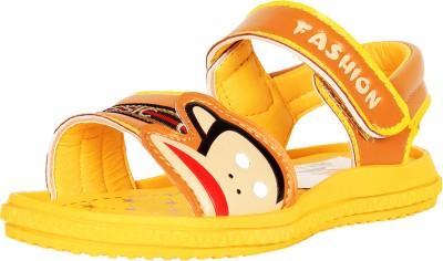 Ole Baby Boys Yellow Sandals