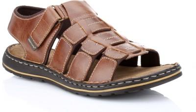 Red Tape Men Brown Sandals