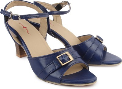 Urban Woods Women Blue Heels