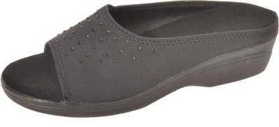 Bshoes Women Black Wedges