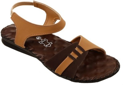 e-lyte Women Brown Flats