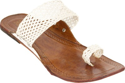 ShoppersPoint Women White Flats
