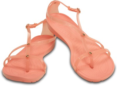 Crocs Women Orange Sandals