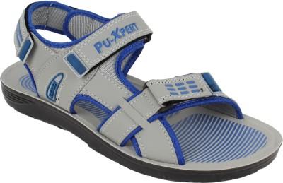 Xpert Men Blue, Grey Sandals
