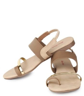 Star Style Women Brown Flats