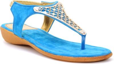 Bruno Manetti Women Blue Flats