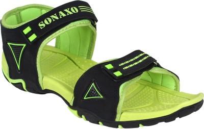 Bersache Men Green Sandals