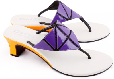 Zotti May Women Purple, Orange Heels