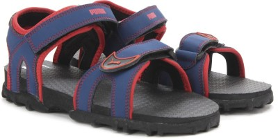 Puma Track Jr DP Boys Blue Sports Sandals