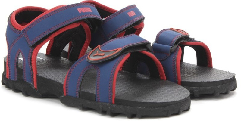 Puma Track Jr DP Boys Blue Sports Sandals