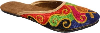 Rajasthanikart Women Multicolor Flats