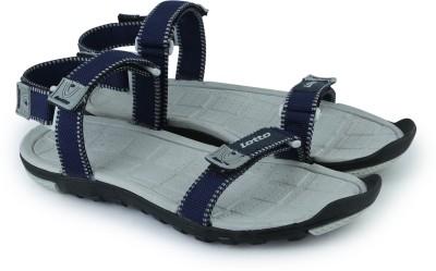 Lotto Men Navy, Grey Sandals