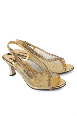 Anaya Women Gold Heels