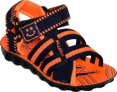 steelwood Boys Orange Sandals