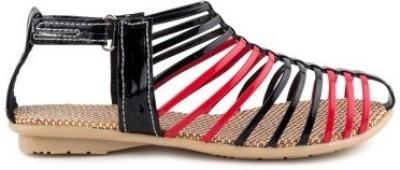 Nshell Women Multicolor Flats