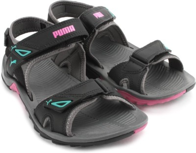Puma Vesta SDL II Wn s DP Women Black, Grey Sports Sandals