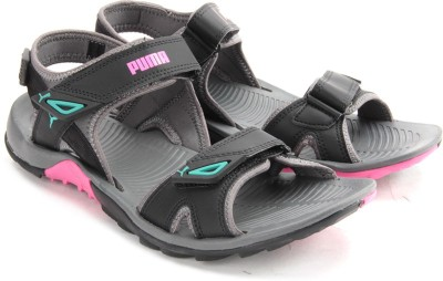 Puma Women Black, Grey Sports Sandals