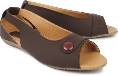 Hansfootnfit Women Brown Flats