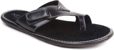 Adreno Men Black Sandals