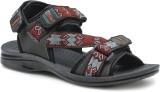Action Shoes Men Black::Grey Sandals