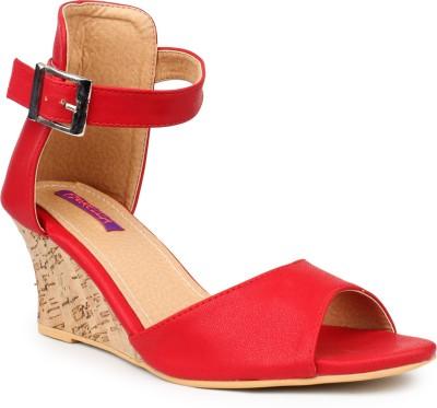 Fiorella Women Red Wedges