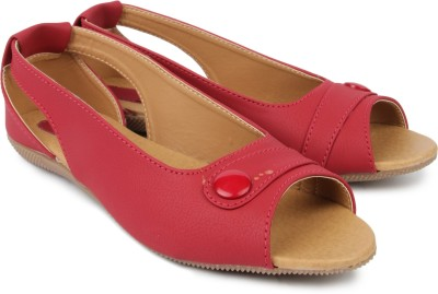Hansfootnfit Women Red Flats