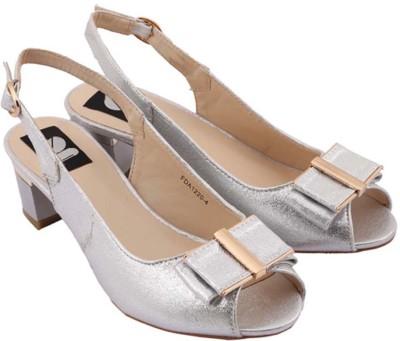 Gossip Women Silver Heels