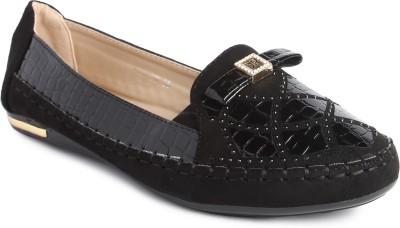 JOVE Women Black Sandals