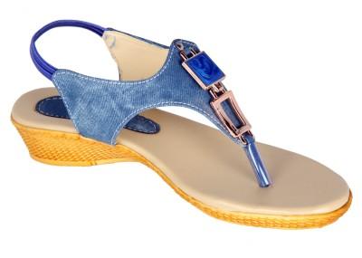 Varsha Women Blue Flats