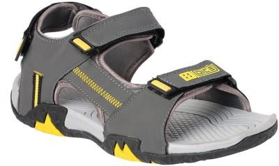 Dice Men Grey, Yellow Sandals