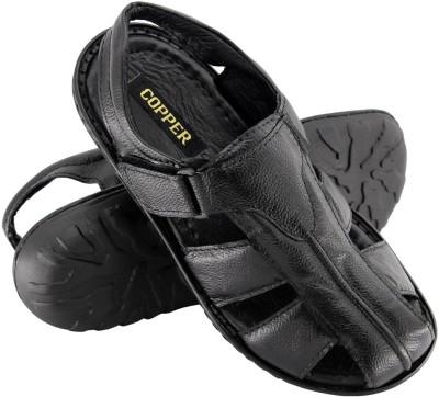 Copper C-7280 Men Black Sandals