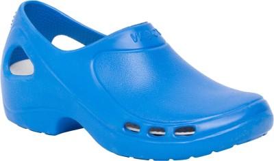 Wock Women Blue Clogs