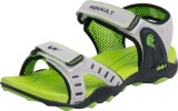 Campus Men Green Sandals