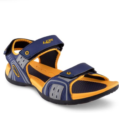 Lancer Men Blue, Yellow Sandals