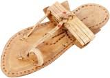 Pulpypapaya Men Beige Sandals